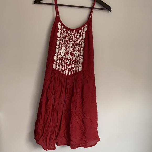 Garage embroidered dress